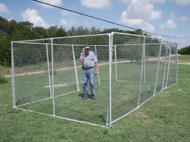 Diy Fanatic Outdoor Pet Enclosure Made Of Pvc